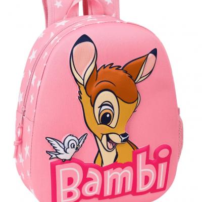 Mochila 3D Bambi Disney Adaptable la casita de dumbo