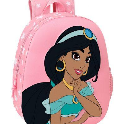 Mochila 3D Jasmine Disney Adaptable la casita de dumbo