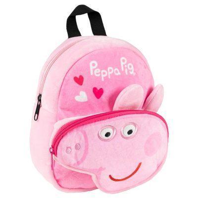 Mochila peluche Peppa Pig 22cm la casita de dumbo