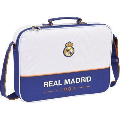 Cartera extraescolares de Real Madrid blanca la casita de dumbo