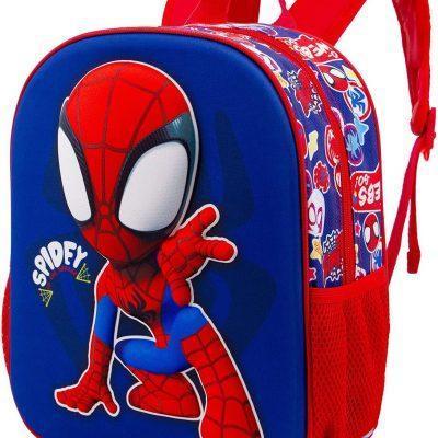 Mochila 3D Spiderman Marvel la casita de dumbo