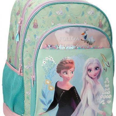 Mochila Compact Frozen ll Disney la casita de dumbo