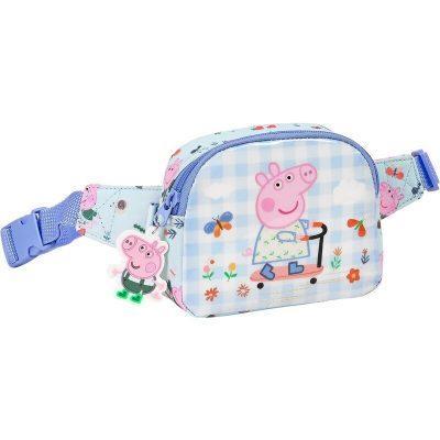 Riñonera infantil niña de Peppa Pig la casita de dumbo