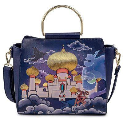 Bolso Castillo Jasmine Aladdin Disney Loungefly la casita de dumbo