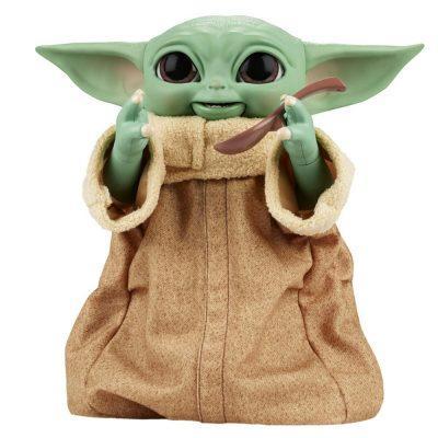 Figura Animatronic Baby Yoda The Child Mandalorian Star Wars la casita de dumbo