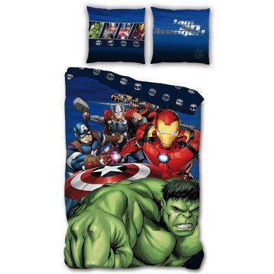 Funda nordica Vengadores Avengers Marvel cama 90 cm microfibra la casita de dumbo