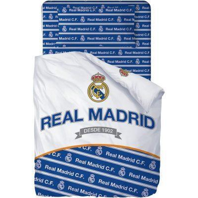 Juego de sabanas de 3 piezas para cama de 90cm de Real Madrid 2 la casita de dumbo