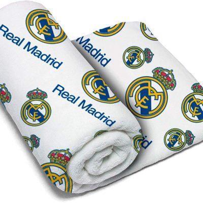 Manta Real Madrid Coralina la casita de dumbo