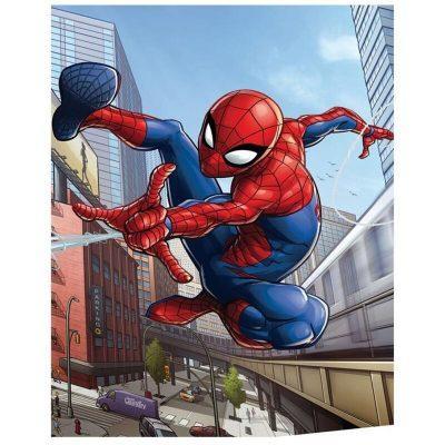 Manta polar 100x140cm de Spiderman la casita de dumbo