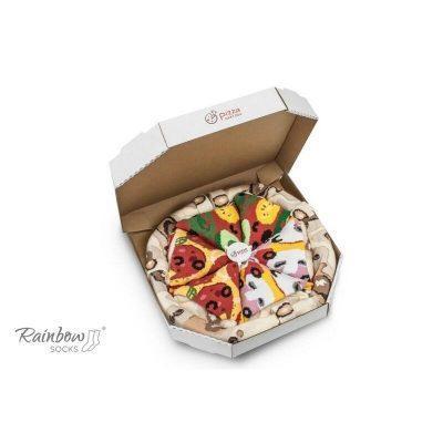 Pizza de calcetines Vegetales, Pepperoni y Caprichosa la casita de dumbo